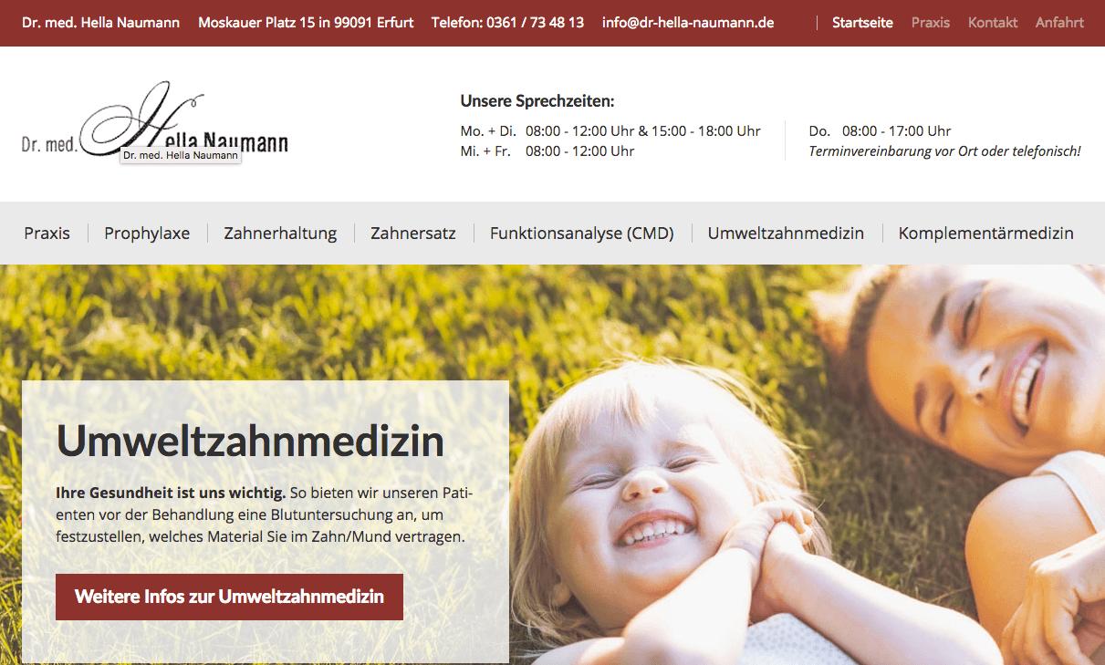 Zahnarztpraxis Dr. med. Hella Naumann