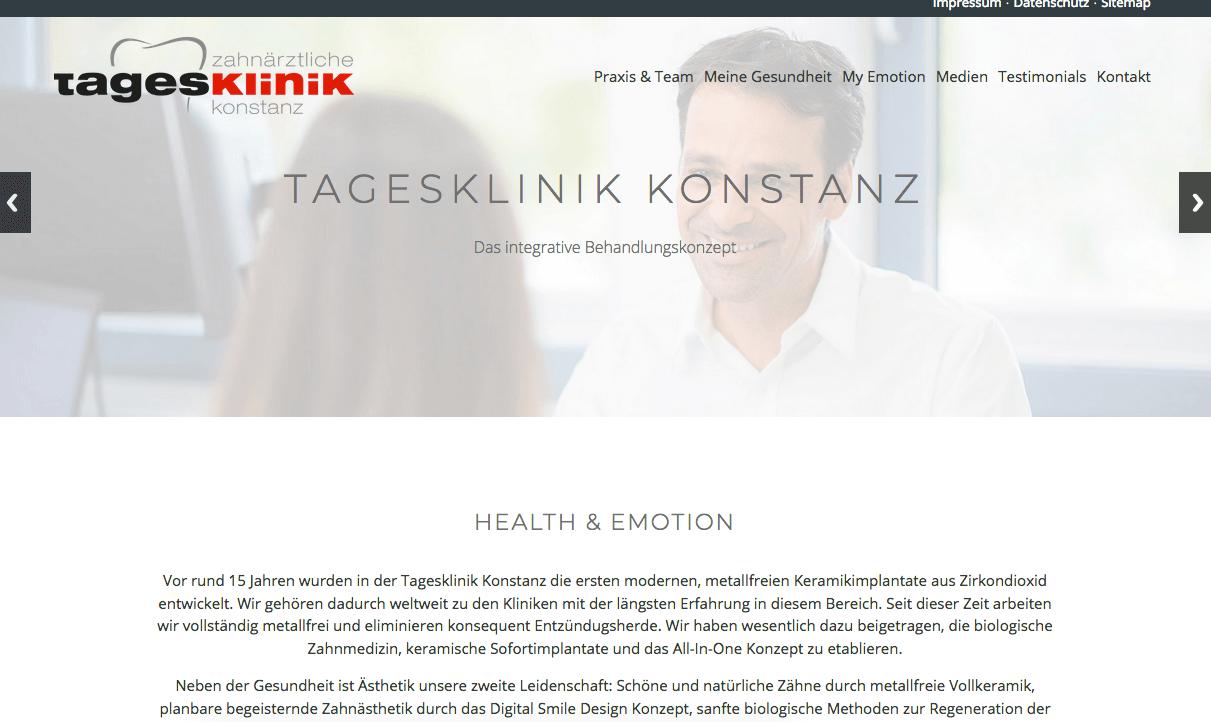 Zahnärztliche Tagesklinik Konstanz Dr. Holger Scholz