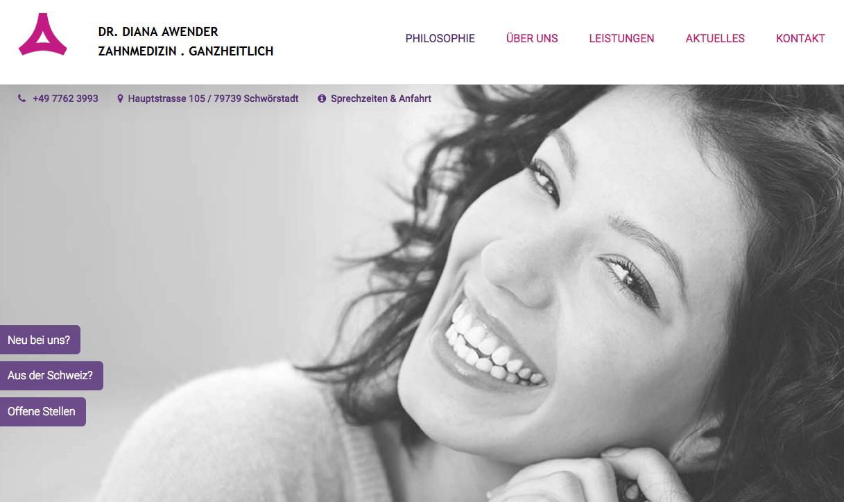 Ganzheitliche Zahnarztpraxis Dr. Diana Awender