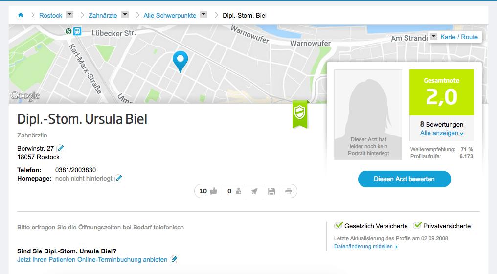 Dipl.-Stom. Ursula Biel