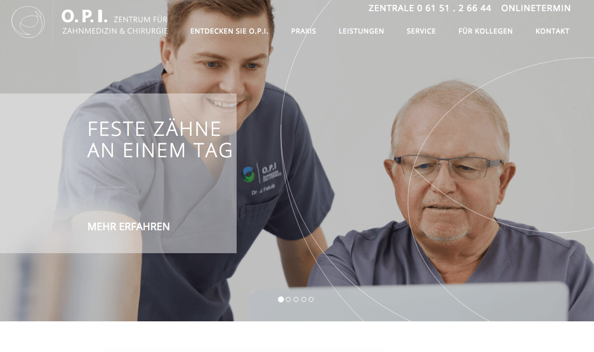 O.P.I. Zahnmedizin und Chirurgie – Dr. Jan Foitzik