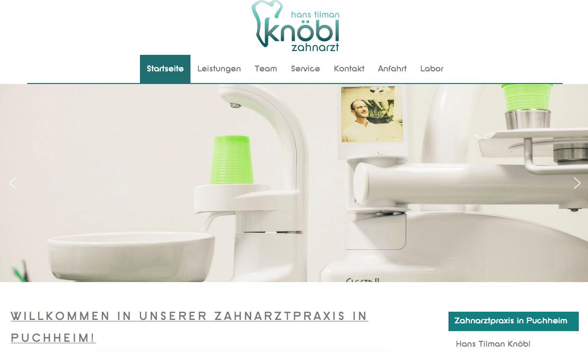 Zahnarzt in Puchheim | Praxis Hans Tilman Knöbl