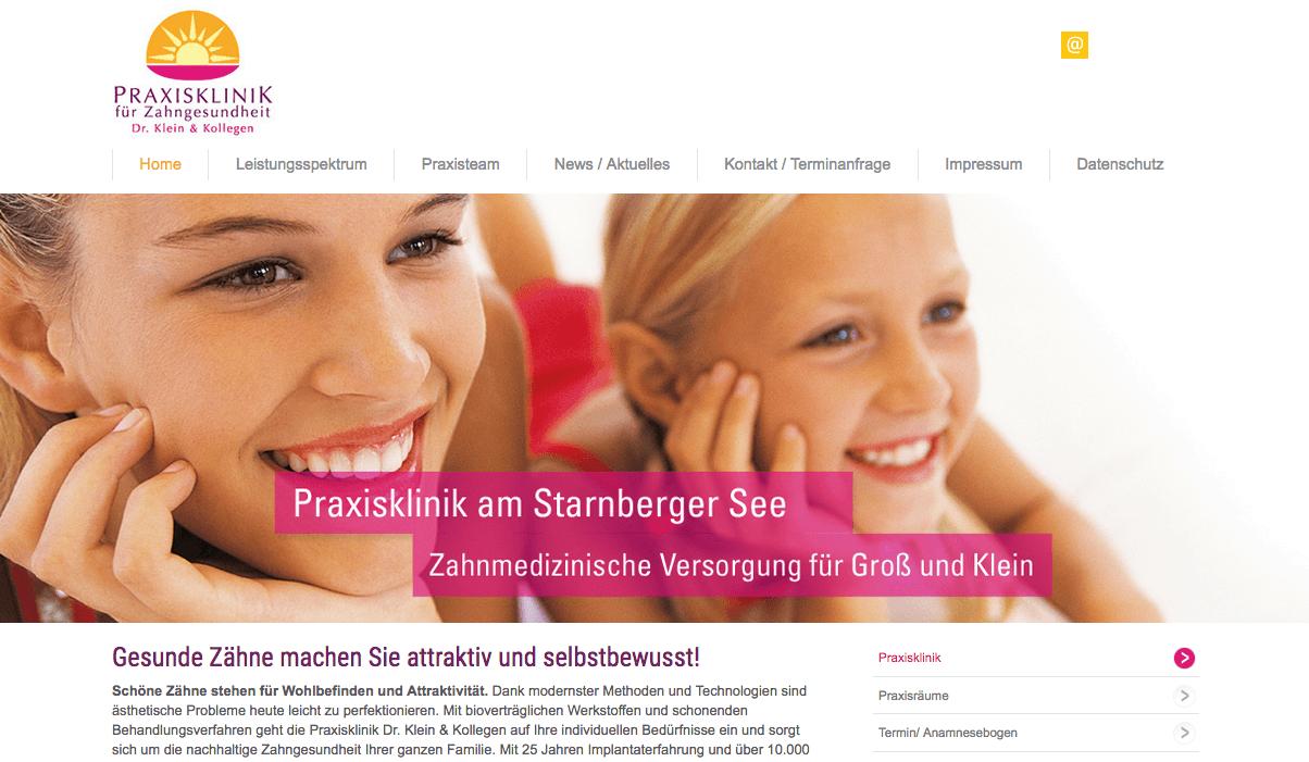 Praxisklinik für Zahngesundheit Dr. Patricia K. Klein & Kollegen