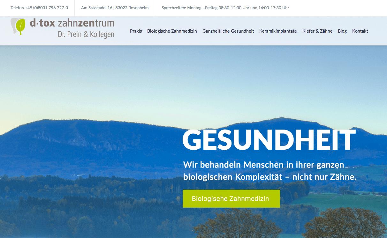 Zahnarzt Rosenheim – Biologische Zahnmedizin Dr. Prein & Kollegen