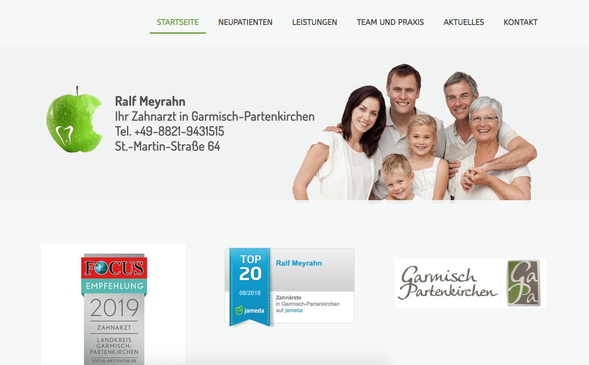 Zahnarztpraxis Ralf Meyrahn
