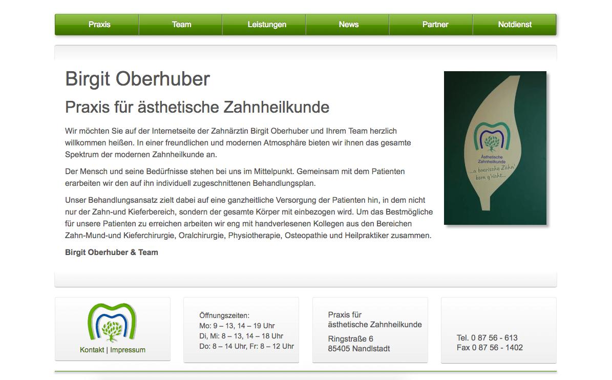 Zahnarztpraxis Birgit Oberhuber