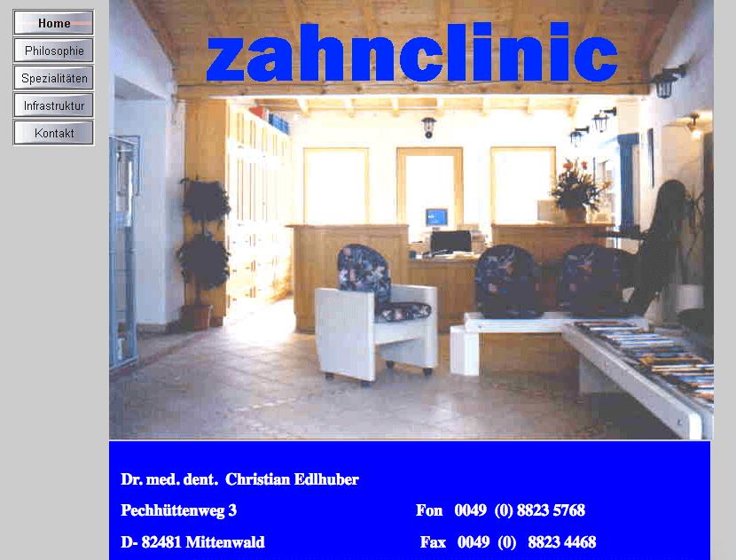 Zahnarztpraxis Dr. Christian Edlhuber