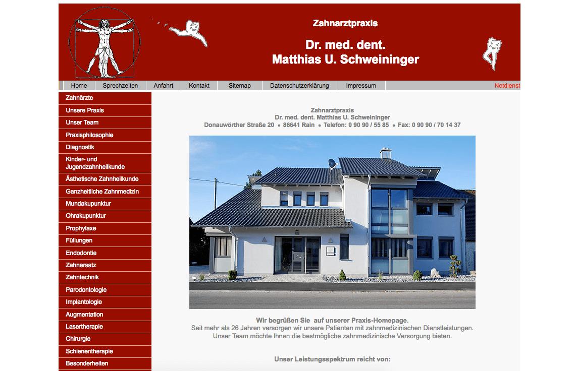 Zahnarztpraxis Dr. Matthias Schweininger