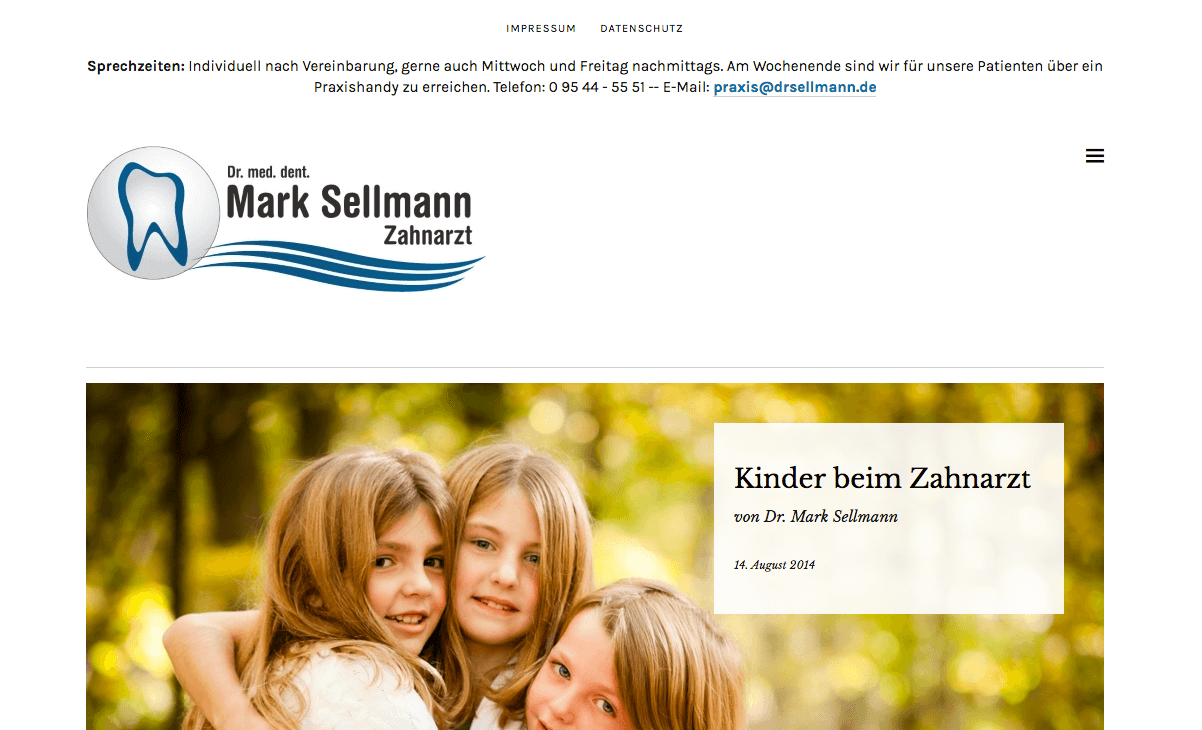 Zahnarztpraxis Dr. med. dent. Mark Sellmann
