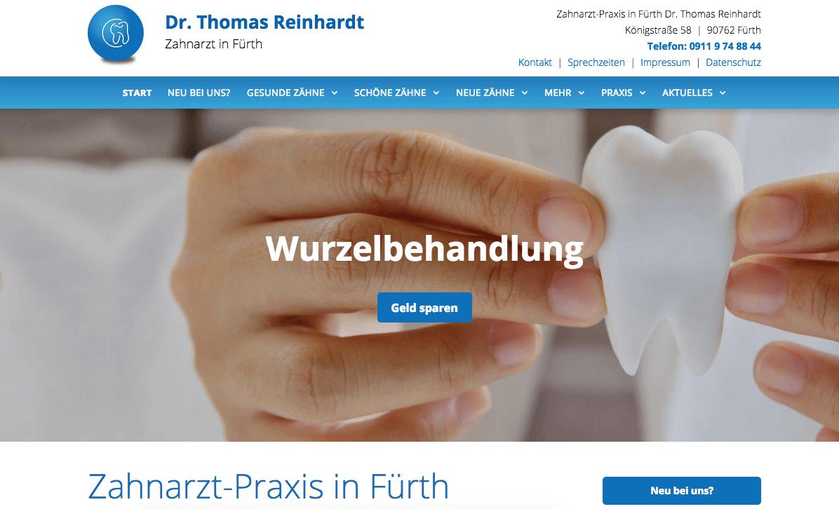 Zahnarztpraxis Dr. Thomas Reinhardt
