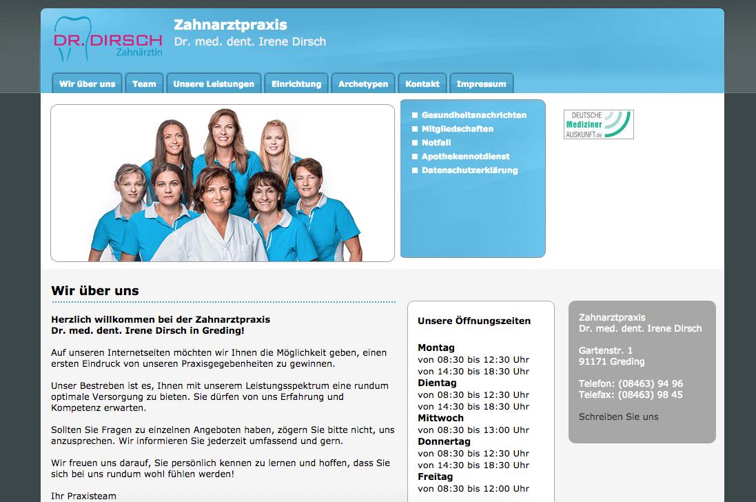 Zahnarztpraxis Dr. med. dent. Irene Dirsch