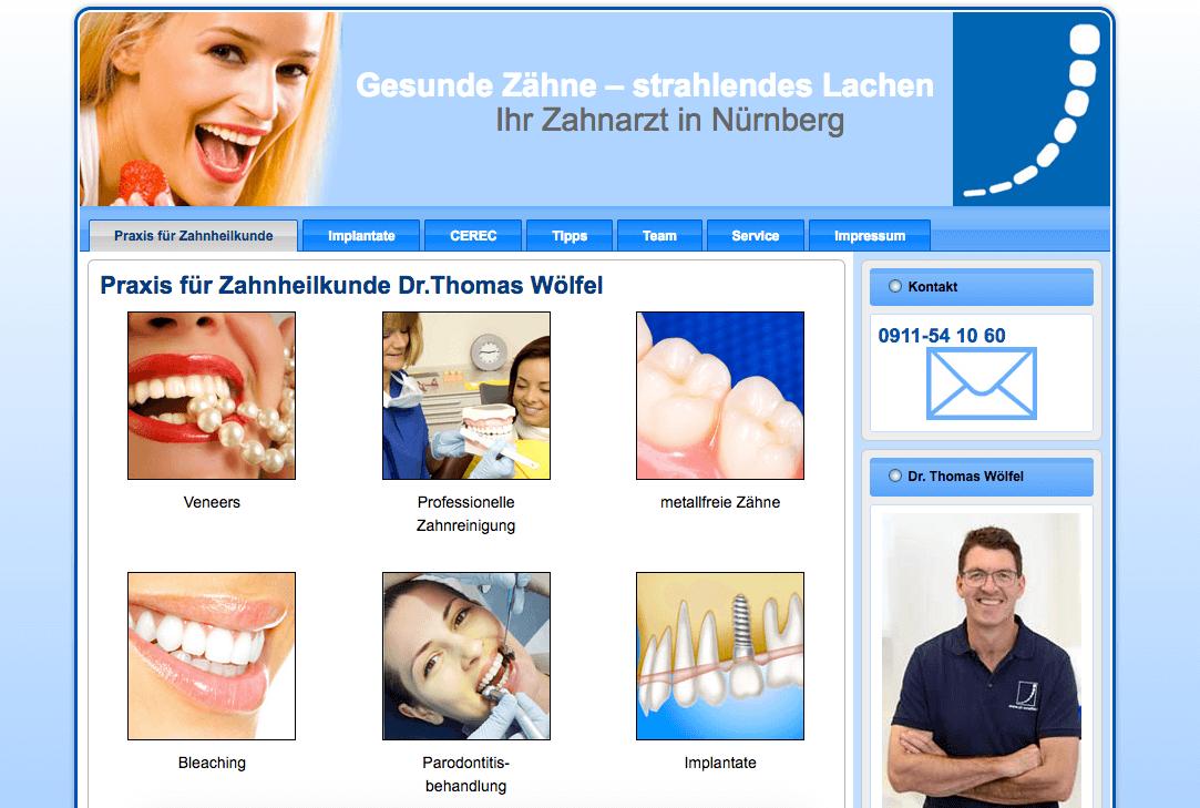 Praxis für Zahnheilkunde und Implantologie Dr. med. dent. Thomas Wölfel