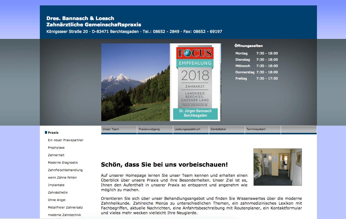 Zahnärztliche Gemeinschaftspraxis Dres. Bannasch & Loesch