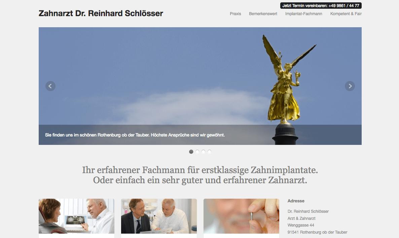 Zahnarztpraxis Rothenburg Dr. Reinhard Schlösser Arzt & Zahnarzt