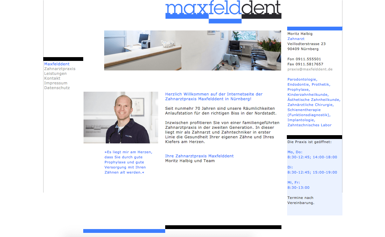 Zahnarztpraxis Maxfelddent Moritz Halbig