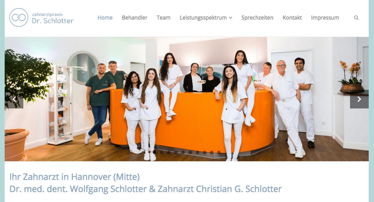 Zahnarztpraxis Dr. Schlotter - Dr. med. dent. Wolfgang Schlotter & Zahnarzt Christian G. Schlotter