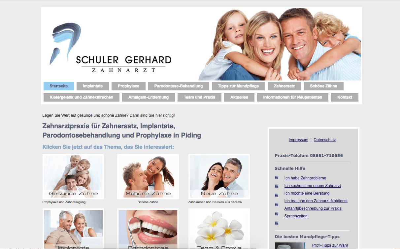 Zahnarztpraxis Gerhard Schuler