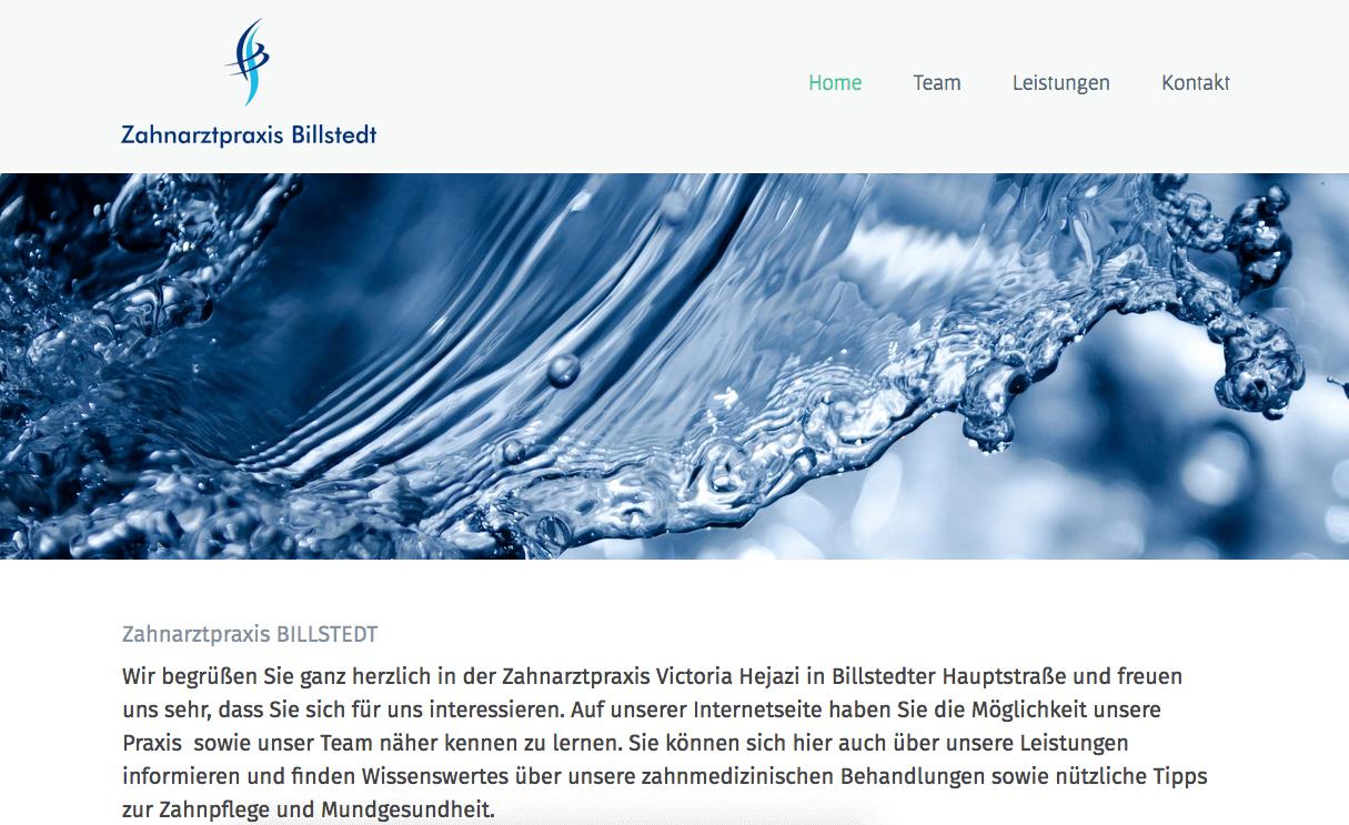 Zahnarztpraxis Billstedt Victoria Heering-Hejazi