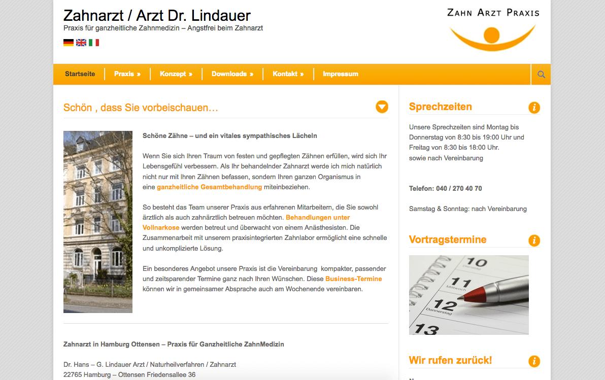Praxis Dr. Hans-G. Lindauer, Arzt / Naturheilverfahren / Zahnarzt