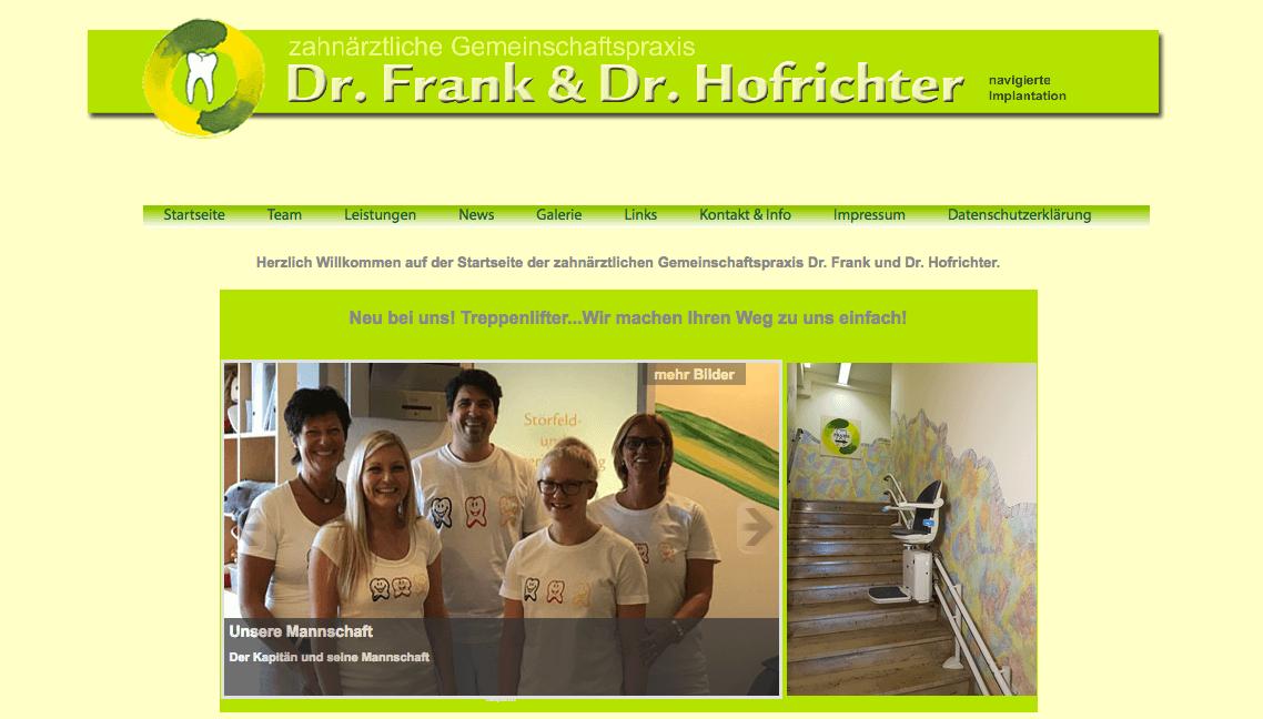 Zahnarztpraxis Schwarzenfeld Dr. Norbert Frank & Dr. Bernd Hofrichter