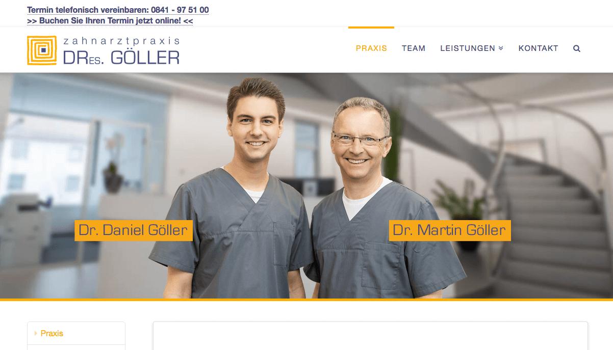 Zahnarztpraxis Dres. Martin & Daniel Göller