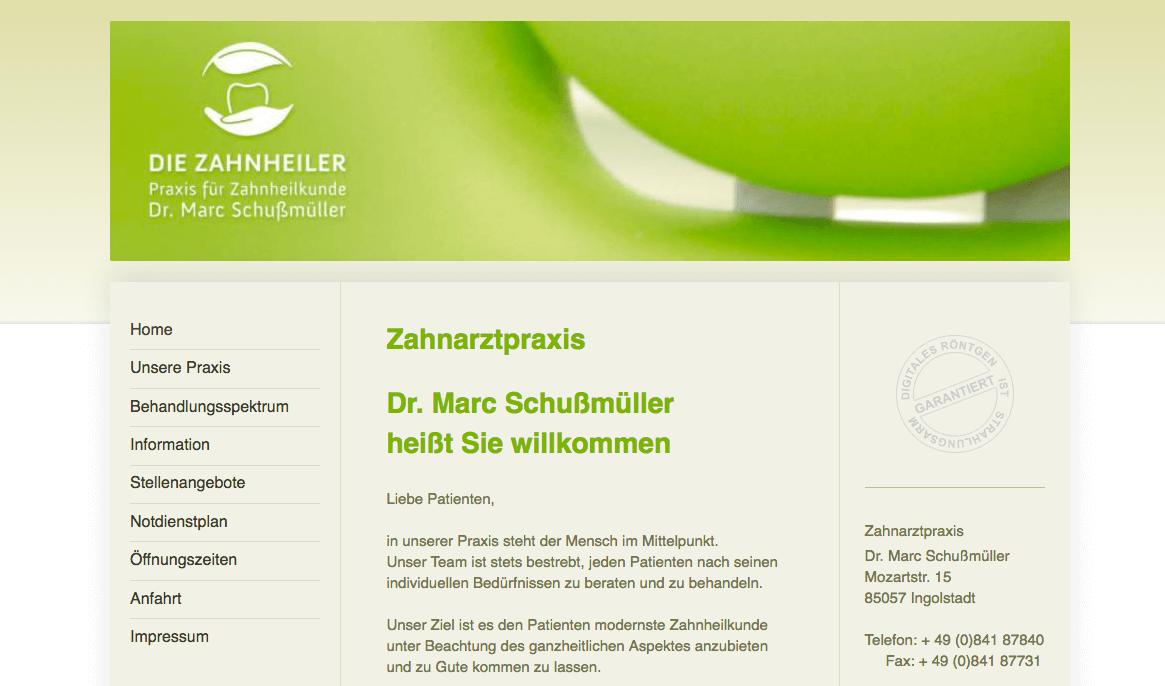 Zahnarztpraxis Dr. Marc Schußmüller