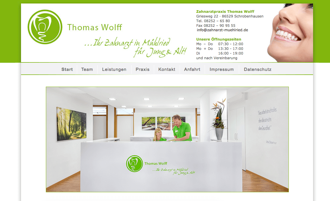 Zahnarztpraxis Thomas Wolff