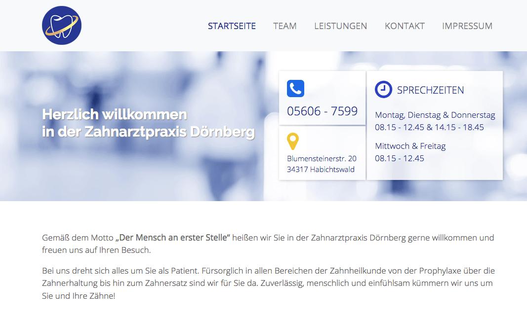 Zahnarztpraxis Habichtswald Dörnberg, Zahnarzt Hendrik Drothler