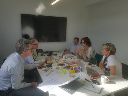Treffen gemeinsam mit den französischen Partnern von Non au Mercure Dentaire