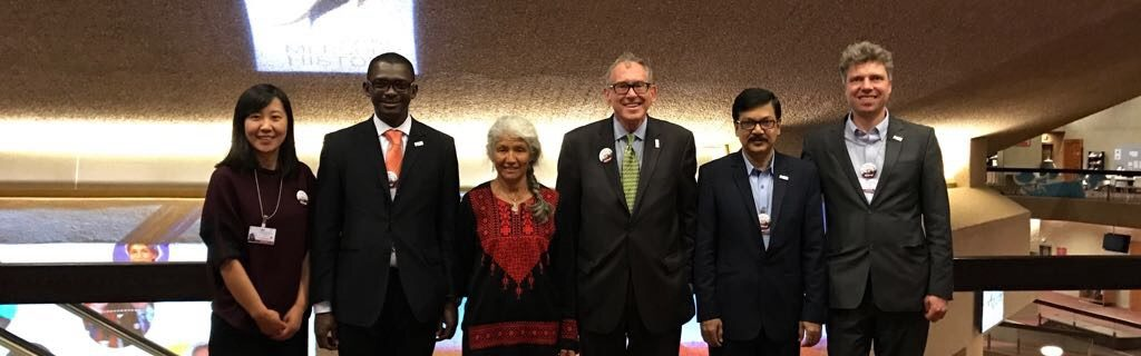 Die World Alliance for Mercury Free Dentistry https://mercuryfreedentistry.net/ Lingling Yao (Asien), Dominique Bally (Afrika), Maria Carcamo (Lateinamerika), Charlie Brown (President,US), Dr. Shahriar Hossain (Südost-Asien), Florian Schulze (Europa)