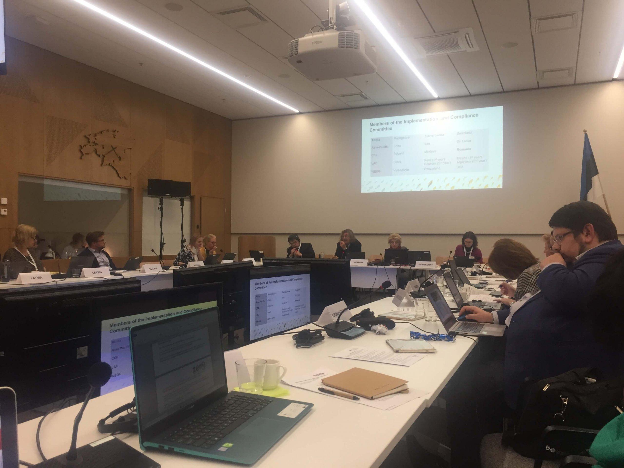 22/23 Okt 2019 Regionale Verbereitungskonferenz (CEE&CA) der Minamata Konvention in Tallinn