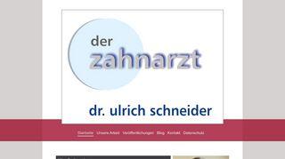 Zahnarzt Praxis Dr. Ulrich Schneider