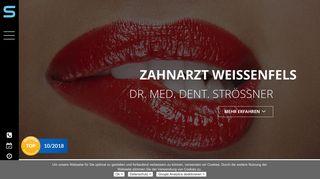 Zahnarzt Weißenfels, Dr. med. dent. Sandro Strössner