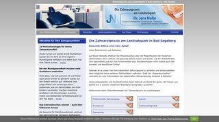 Die Zahnarztpraxis am Landratspark - Dr. Jens Nolte