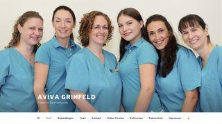 AVIVA GRINFELD – Praxis für Zahnheilkunde
