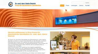 Zahnarztpraxis Dr. Katrin Dietrich