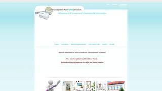 Zahnarztpraxis Koch und Deutrich
