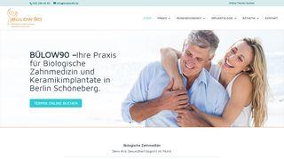 BÜLOW90 - Biologische Zahnmedizin - Keramikimplantate