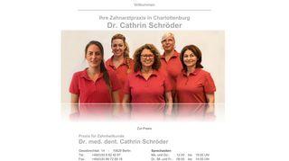 Praxis für Zahnheilkunde Dr. Cathrin Schröder