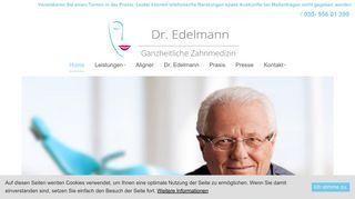 Zahnarzt Dr. Edelmann Berlin Charlottenburg